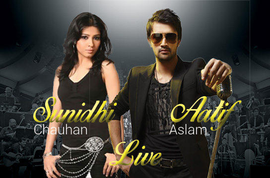 Aatif Aslam & Sunidhi Chauhan : Live in concert