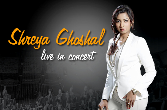 SHREYA GHOSAL 2014 : Live in concert