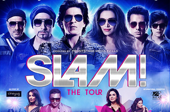 SLAM The Tour 2014 – Biggest Bollywood superstars to entertain you